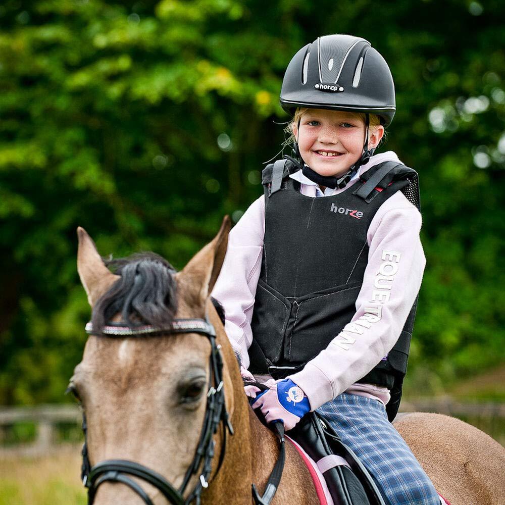 Horze Pacific Defenze Adjustable Riding Helmet Hat VG1 Kids Womens Mens