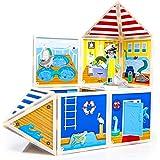 Build & Imagine Marine Rescue Center (magnetic building set)