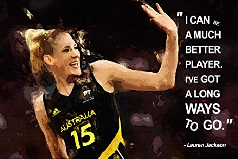 Amazon Lauren Jackson Motivational NBA Basketball Quotes Unique Motivational Basketball Quotes