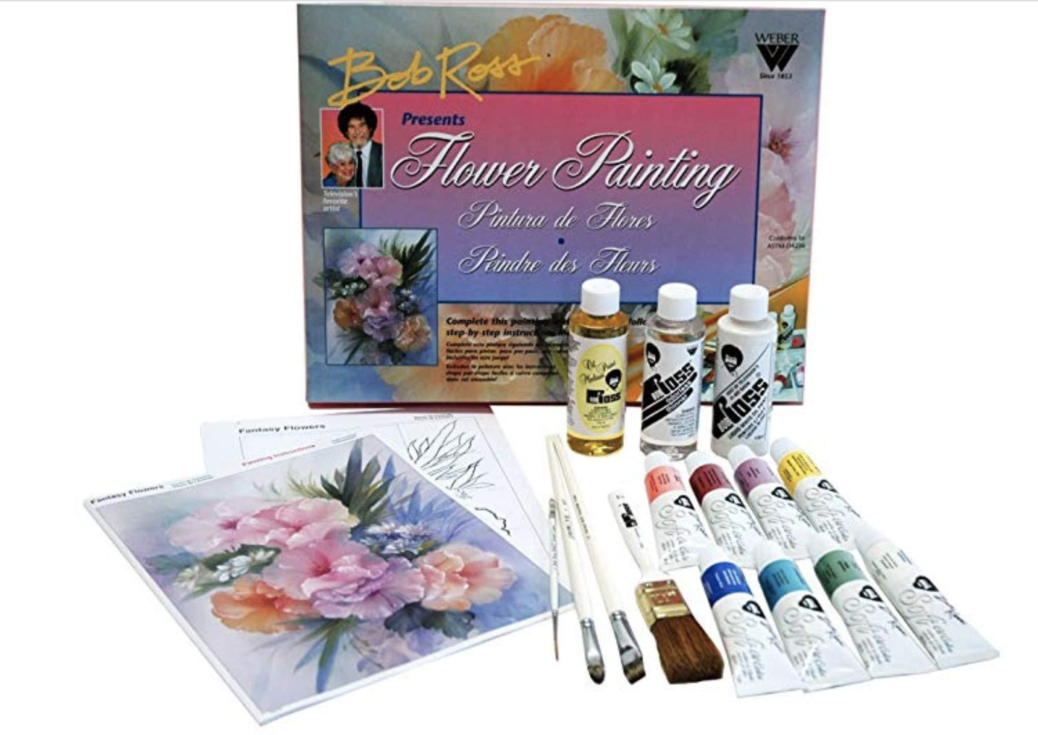 Bob Ross R6470 Floral Painting Set
