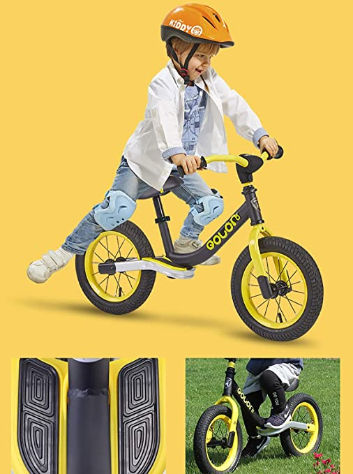 AI-QX First Bike - Bicicleta sin Pedales con sillín Regulable, 2-6 ...