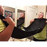 Amazon Price History for:Fathers Day Gifts AMTOK Beard Catcher Apron Beard Bib Beard Cape for Shaving,Trim Your Beard In Minutes Without The Mess