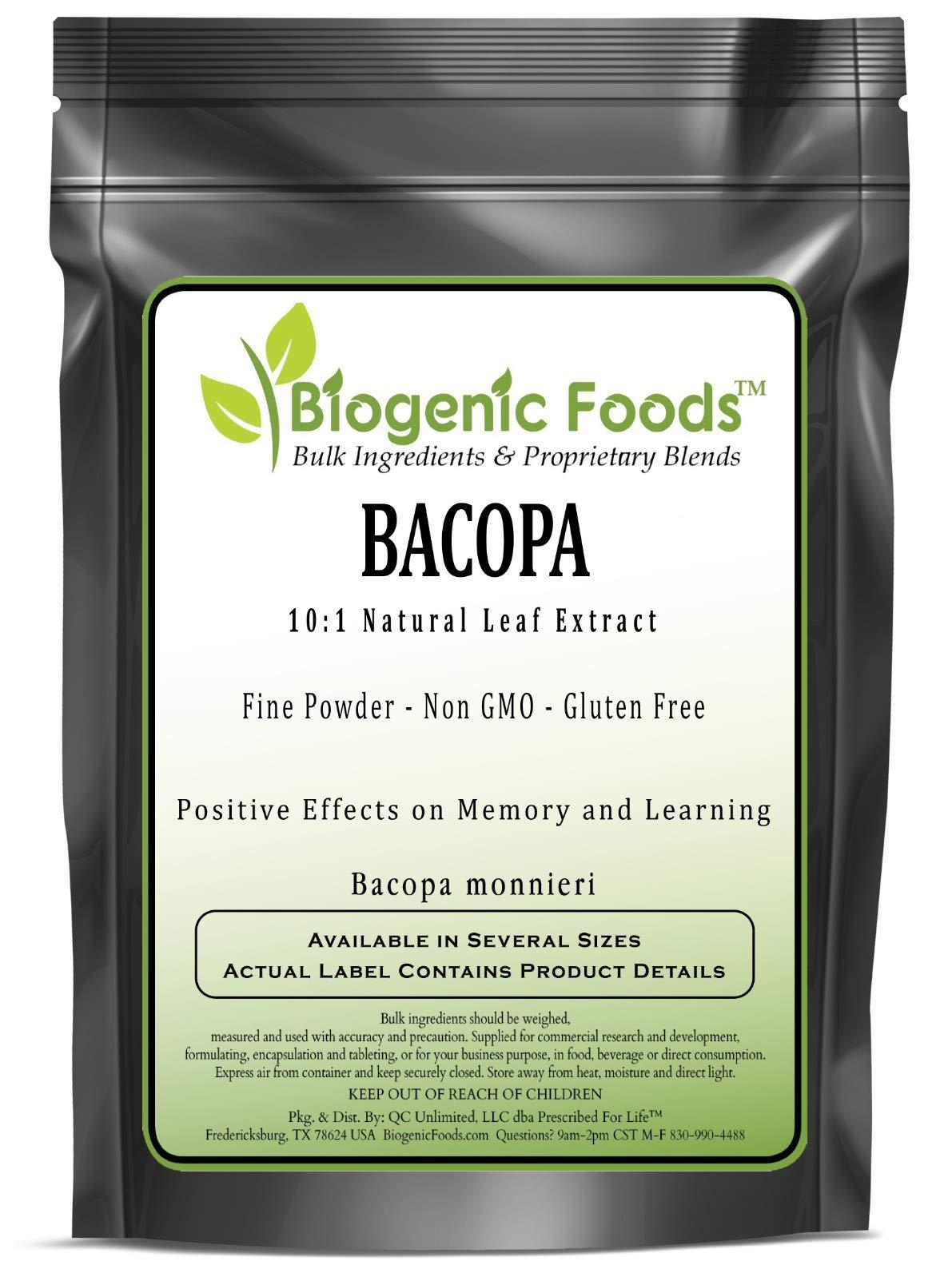 Bacopa - 10:1 Natural Leaf Extract Fine Powder (Bacopa monnieri), 25 kg