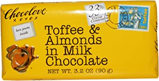 product image for Chocolove, Toffee & Almonds in Milk Chocolate, 3.2 oz(Pack of 2)