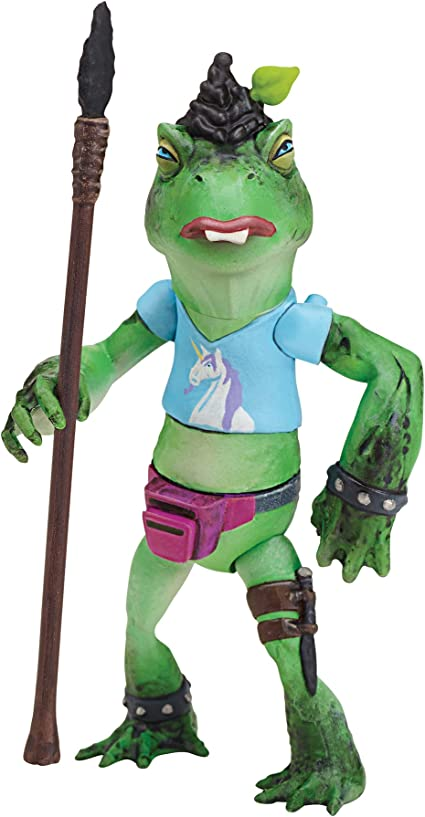 Amazon Com Teenage Mutant Ninja Turtles Napoleon Bonafrog Figure