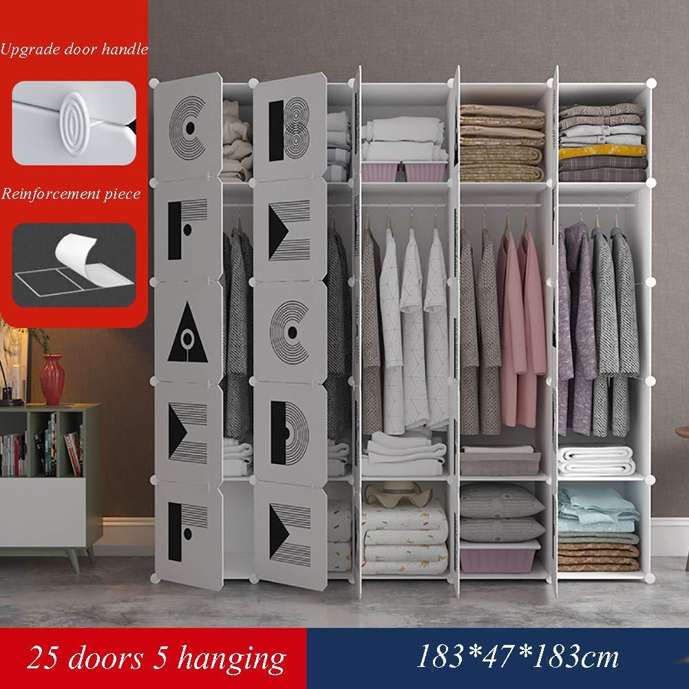 GJC DIY einfache kleiderschrank zauberstück kleiderschrank schuhschrank Mode einfachen schlafsaal verstärkung Montage kleiderschrank,25doors