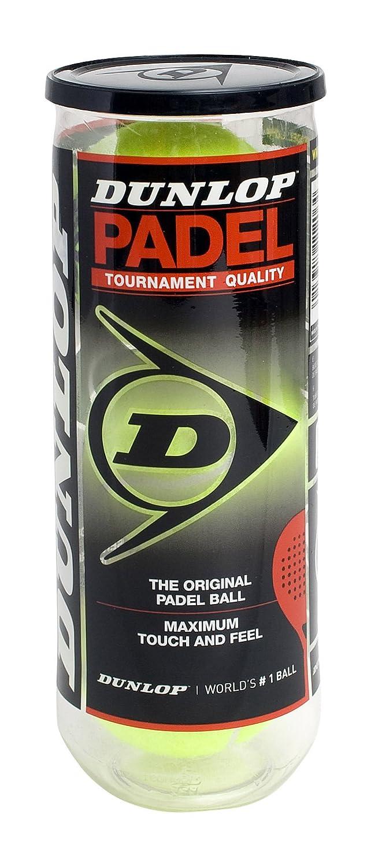 Dunlop - Bote de 3 pelotas de pádel