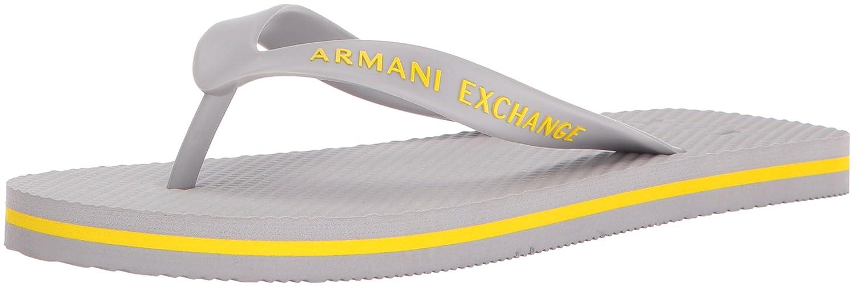 ec2cb89063e342 Amazon.com  A X Armani Exchange Men s Solid Flip Flop  Shoes