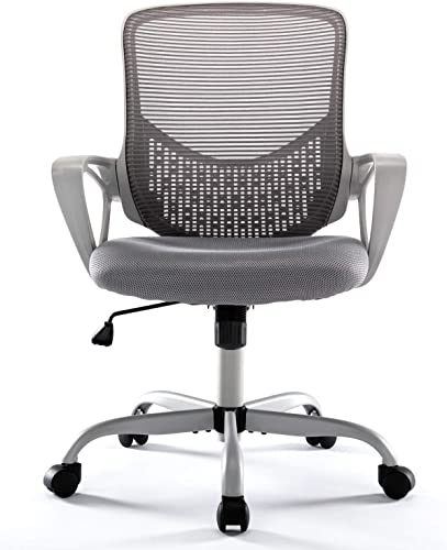 Office Chair Mid Back Swivel