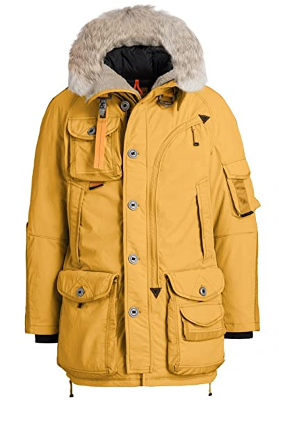 outlet store 17be9 c8143 Parajumpers - Cappotto - Parka - Uomo giallo zafferano ...