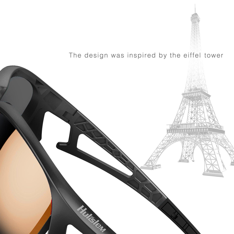 Hulislem Blade Sport Polarized Sunglasses Case Color May Vary