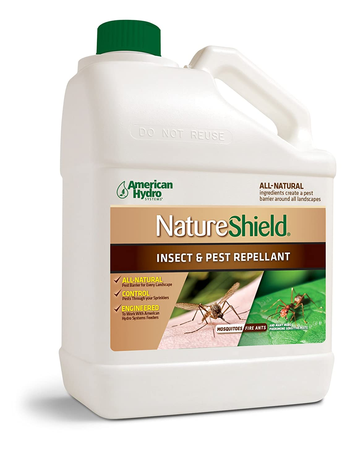 American Hydro Systems NS1-1C Nature Shield Insect and Pest Repellant, All Natural, 1-Gallon, 4 Pack