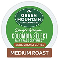 72 Count Green Mountain Coffee Roasters Colombian Fair K-Cup Pods