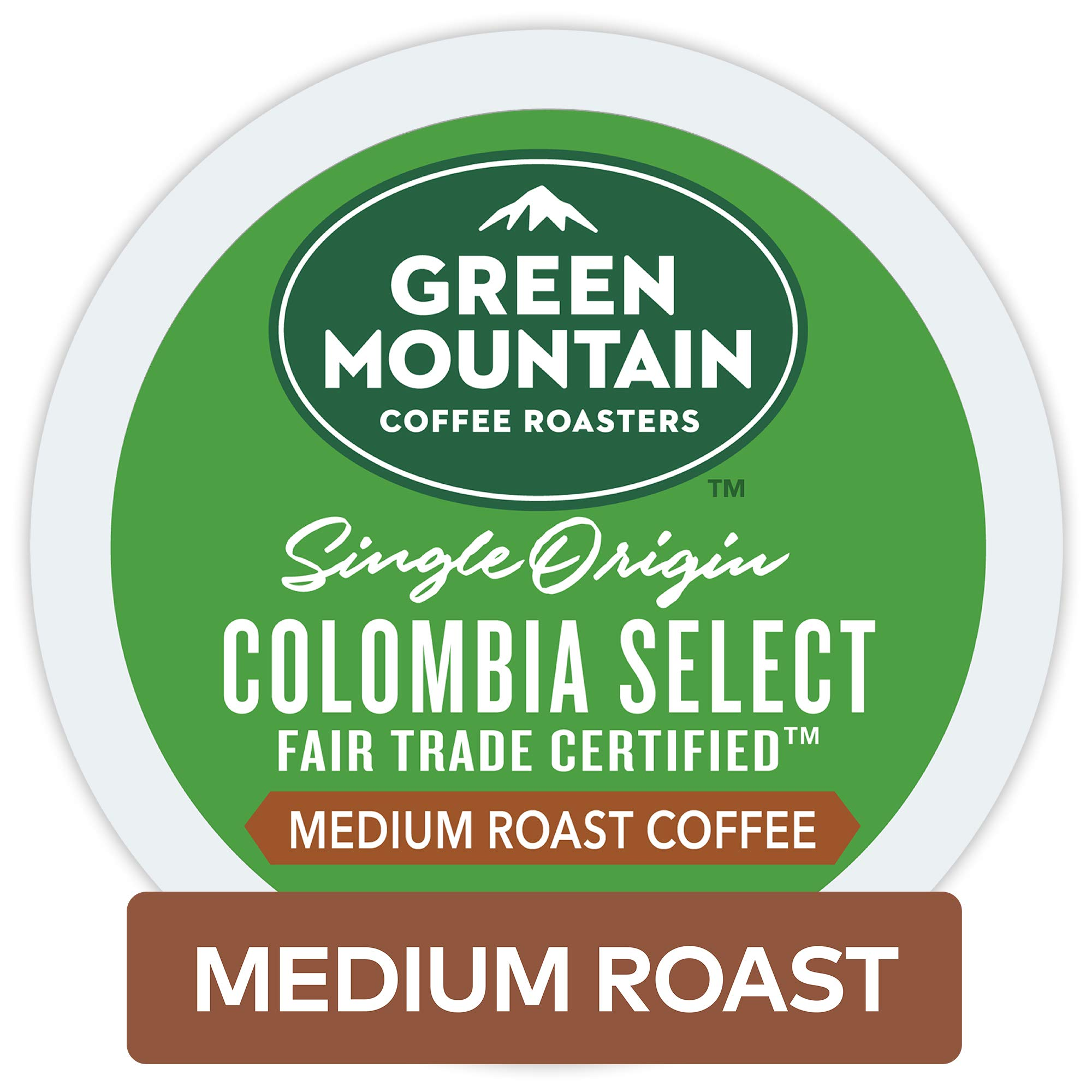 Green Mountain Coffee Roasters Colombian Fair Trade Select Keurig Single-Serve K-Cup Pods