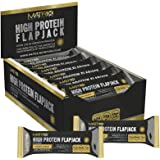 Matrix Nutrition High Protein Flapjack Box 24 × 75g   Best Sports Nutrition Muscle Mass Gain Whey Bars