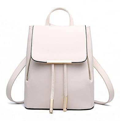 Women Backpack PU Leather Mochila School Bags For Teenagers Girls Top-handle Backpacks Herald Fashion