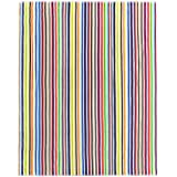 Kaufman - Oversized Multicolor Candy-Stripe Beach Pool Towel for Two 55''X68'' (101370)
