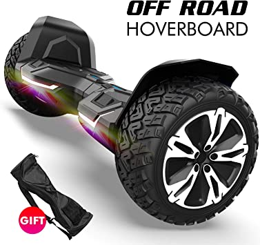 Amazon.com: Gyroshoes Hoverboard – Warrior 8.5 pulgadas Off ...