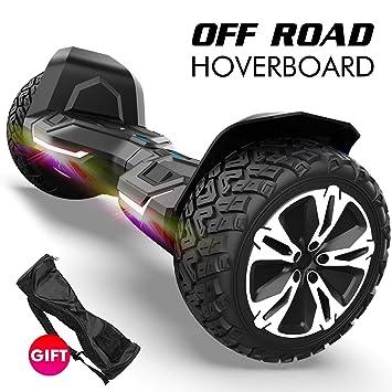 Amazon.com: Gyroshoes Hoverboard – Warrior 8.5 pulgadas Off ...