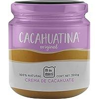 Cacahuatina original- marca M de Maní. Crema de cacahuate 100% natural. All natural peanut butter. 200g