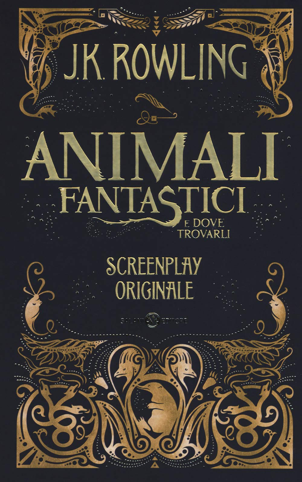 Animali fantastici e dove trovarli. Screenplay originale.