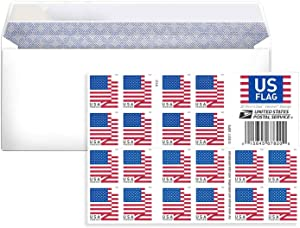 The News Stamps Business Envelope Additional 2018 Forever Postage Stamps (1 Sheet 20 Stamps)