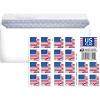 Business Envelope Come with 2018 Forever Postage Stamps (1 Sheet - 20 Stamps)