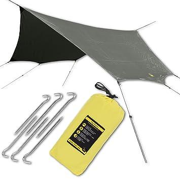 HAMMOCK RAIN SUN FLY TENT TARP PRO Waterproof C&ing Shelter. Lightweight Easy Setup  sc 1 st  Amazon.com & Amazon.com : HAMMOCK RAIN SUN FLY TENT TARP PRO Waterproof Camping ...