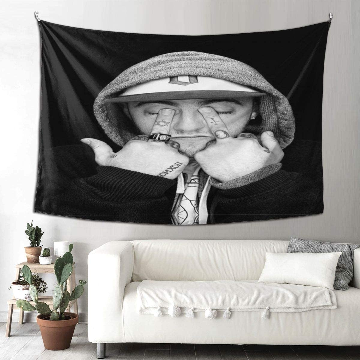 youme Miller Playbill Wall Hanging Tapestry Origal Design Wall Decor Art Style for Bedrooms