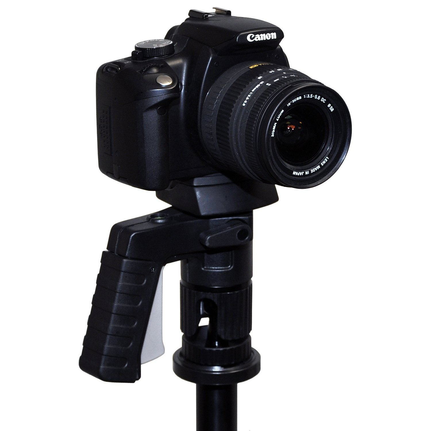 Opteka TS-1 TacShot Pistol Grip Ball Head with Quick Release Plate for Tripods & Monopods