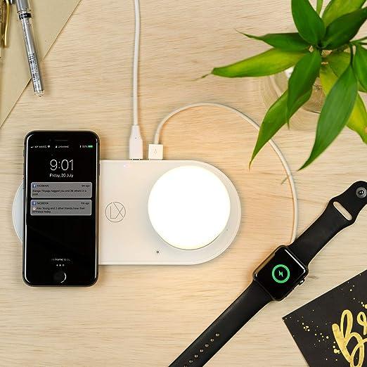 Amazon.com: LXORY Lámpara de carga inalámbrica – Lámpara de ...