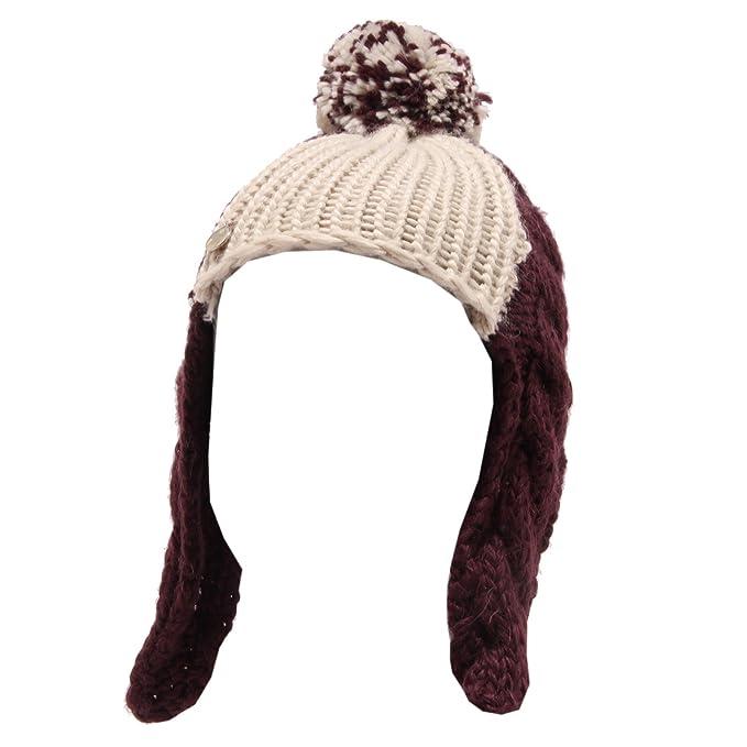 LULU  3726T cuffia bimba misto lana viola crema hat kid  6 MONTHS 34 CM    Amazon.it  Abbigliamento 523dafda0c89
