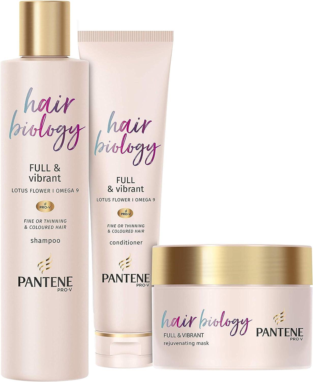 Pantene Pro-V Hair Biology completo y vibrante, caja de regalo