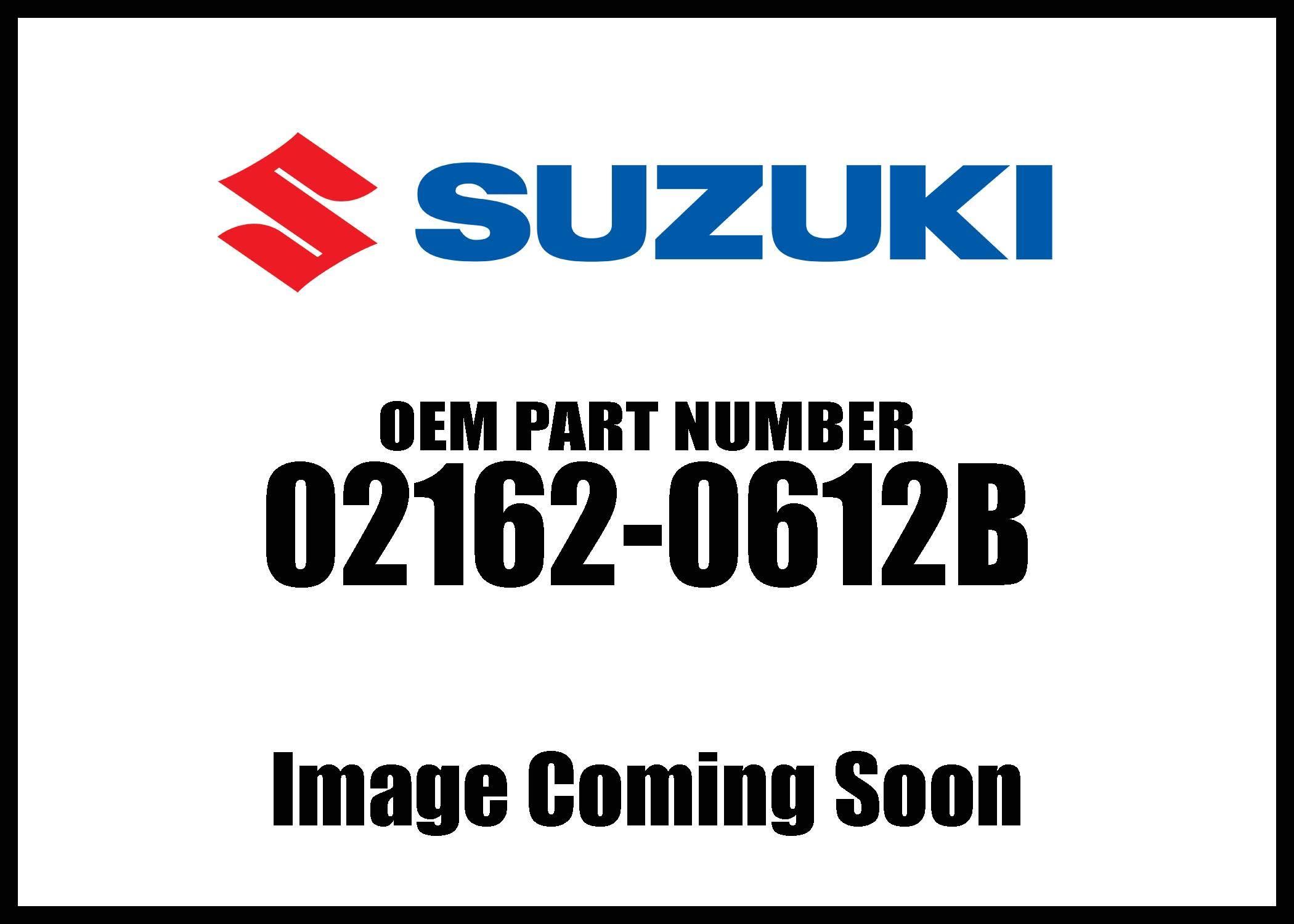 Suzuki Screw 02162-0612B New Oem