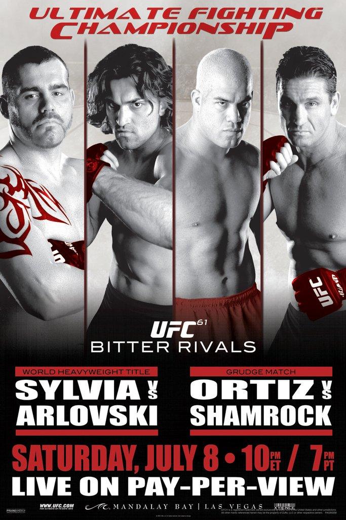 Amazon UFC 61 Bitter Rivals S...