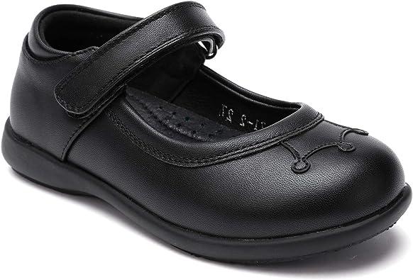black mary jane girl shoes
