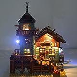 Ideas Old Fishing Store ブロック組み立てモデル 対応 Lightailing LEDライトセット – レゴ 21310 対応LEDライトキット (本体別売)