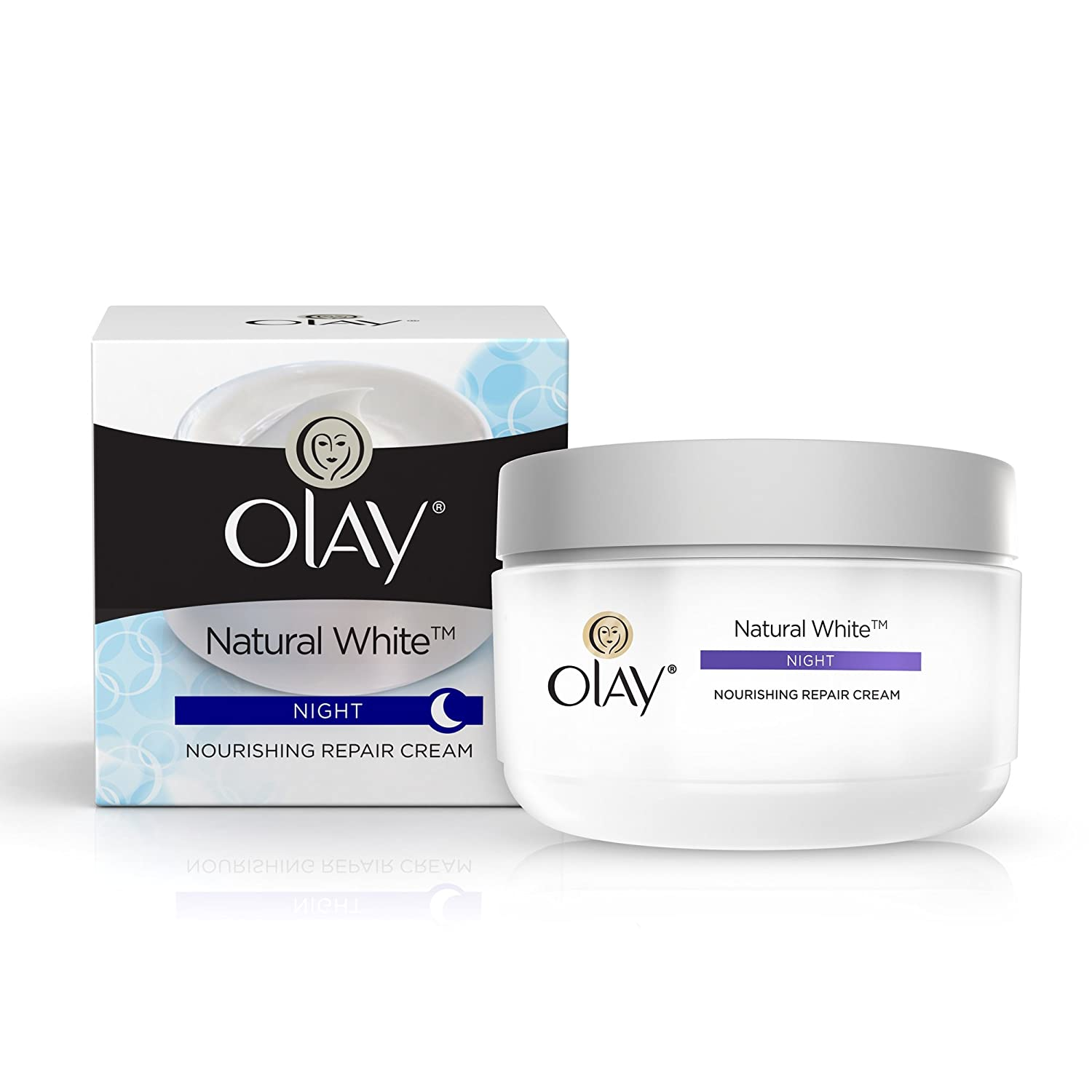 Olay Natural White All in One Fairness Night Skin Cream - 50 gm Procter and Gamble A-667
