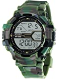 Gen-y Green Army Print Digital Watch for Boys and Men