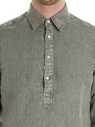 Aspesi Homme CE66C195TL85169 Vert Lin Chemise  Amazon.fr  Vêtements et  accessoires 1620ed9014c1