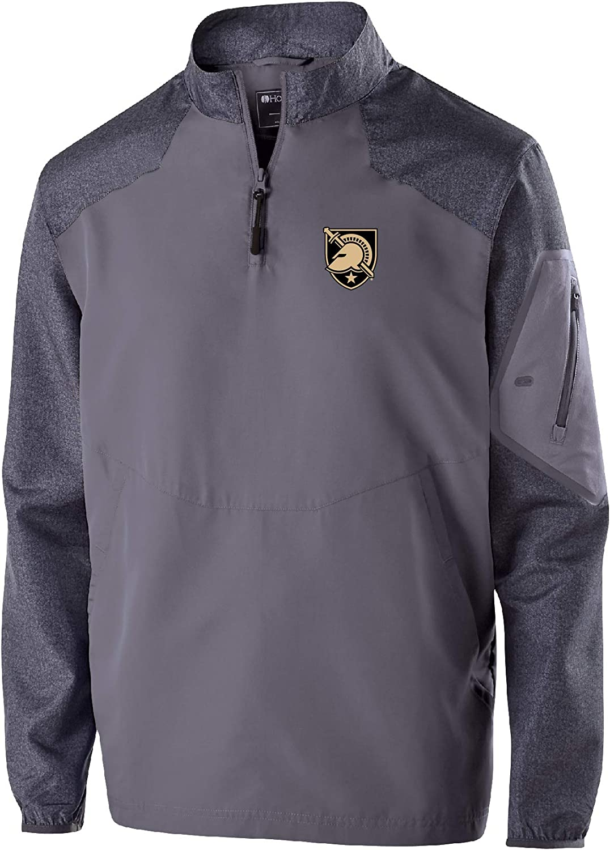 NCAA Gonzaga Bulldogs Mens Raider Pullover Carbon Print//Navy X-Large