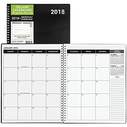 AmazonCom   Monthly Daily Planner Calendar  Appointment Book