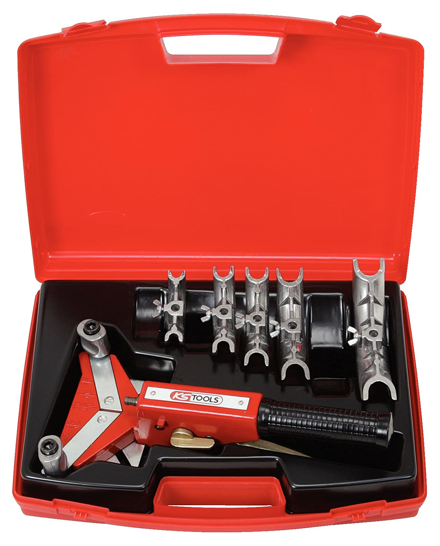 KS Tools 203.1200 Ratschen-Einhand-Biege-Satz 10-22mm, 9-tlg. Variante1 KS-Tools Werkzeuge-Maschine 4042146026182