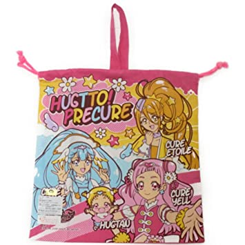 Amazoncojp ハグットプリキュア 巾着大 巾着袋 サイズ 2926cm おもちゃ