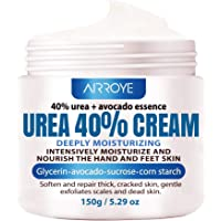 Urea 40% Foot Cream 5.29 oz ‖ Best Callus Remover For Feet, Knees& Elbows ‖ Natural Moisturizes Nourishes Softens Dry…