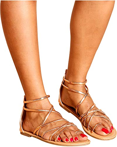 47a53333051c Refresh Women s MONSE Strappy Gladiator Sandals