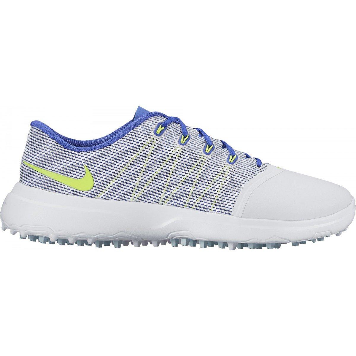 NIKE Golf Womens Lunar Empress 2 Shoes (6.5 B(M) US, Glacier Blue/Volt)