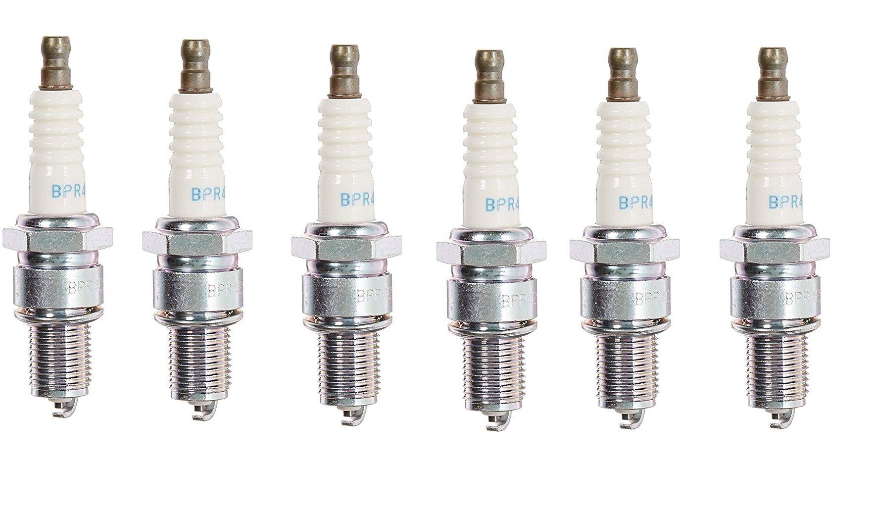 NGK (6578) BPR4ES SOLID Standard Spark Plug, Pack of 6