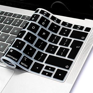 Masino - Funda de Silicona para Teclado de MacBook Air de 13 ...