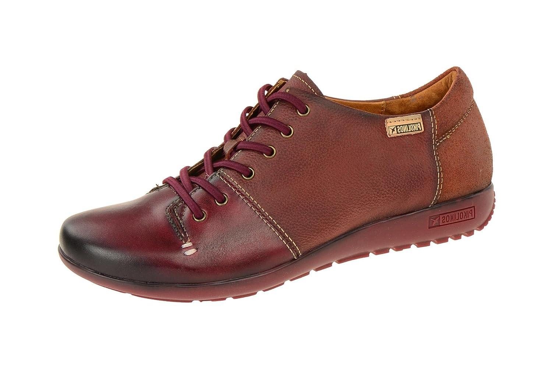 Pikolinos W67-4622 Garnet Arcilla - Zapatos de cordones de Piel para mujer 39 EU|Rojo